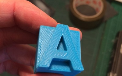 3D Printed Type Experiments