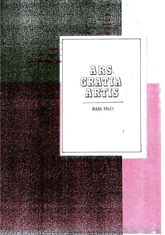 ars gratia artis dead methods