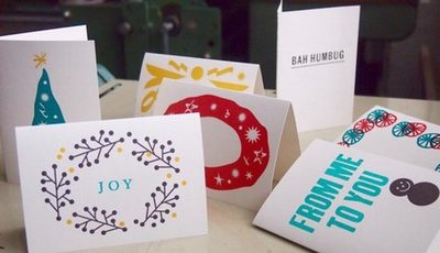 Xmas Card Workshops 2015