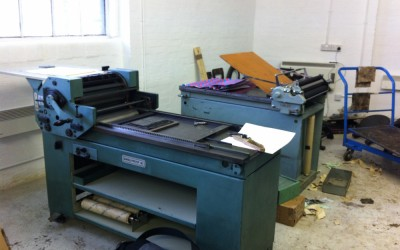 London Centre For Book Arts – Moving In