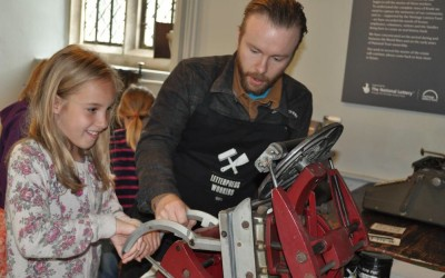 Knole House Letterpress Workshops
