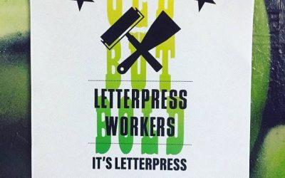 Letterpress Workers 2018